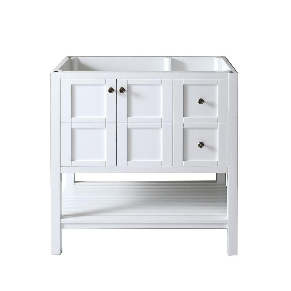 virtu usa winterfell 36 in w x 22 in d x in h vanity cabinet only in the home depot