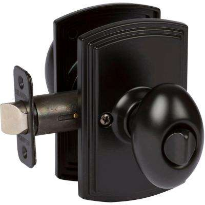 Italian Collection Canova Black Bed and Bath Knob
