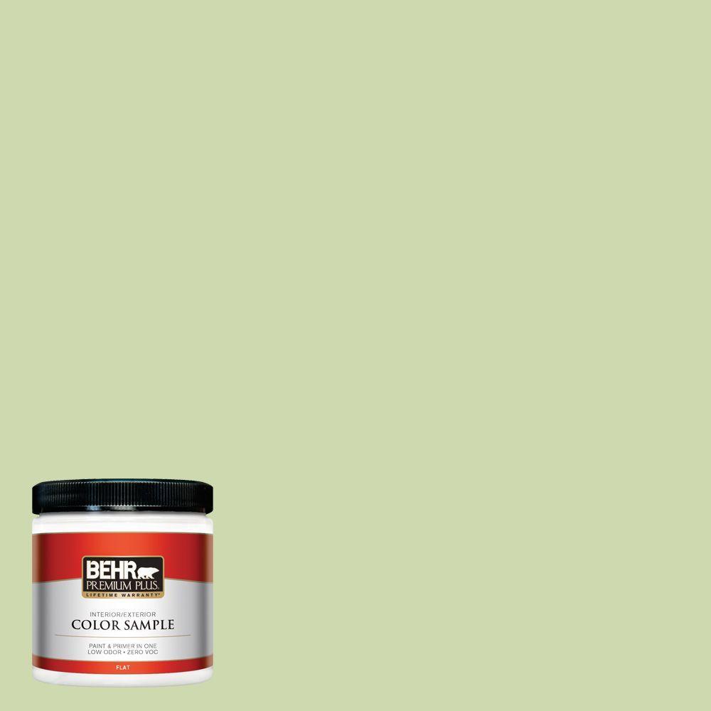 8 oz. #P370-3 Chameleon Skin Flat Zero VOC Interior/Exterior Paint and