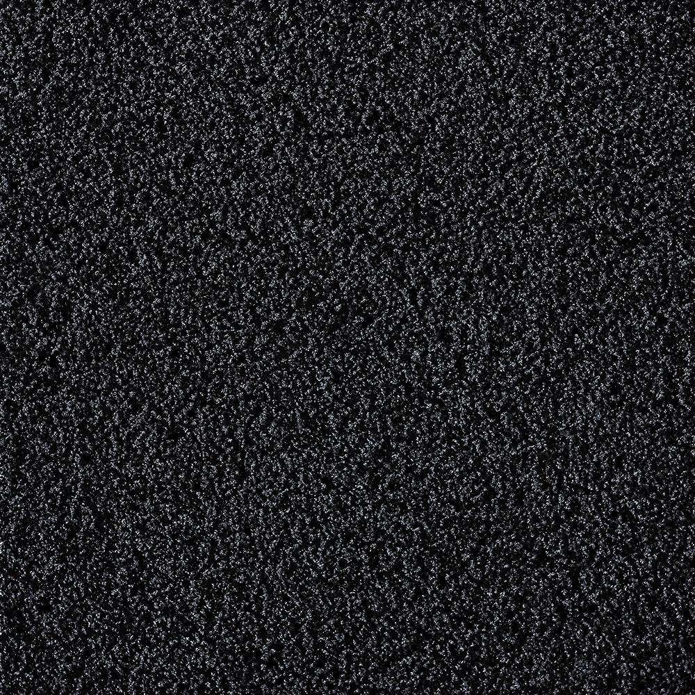 In The Deep Black 19.7 in. x 19.7 in. Carpet Tile (6 Tiles/Case)