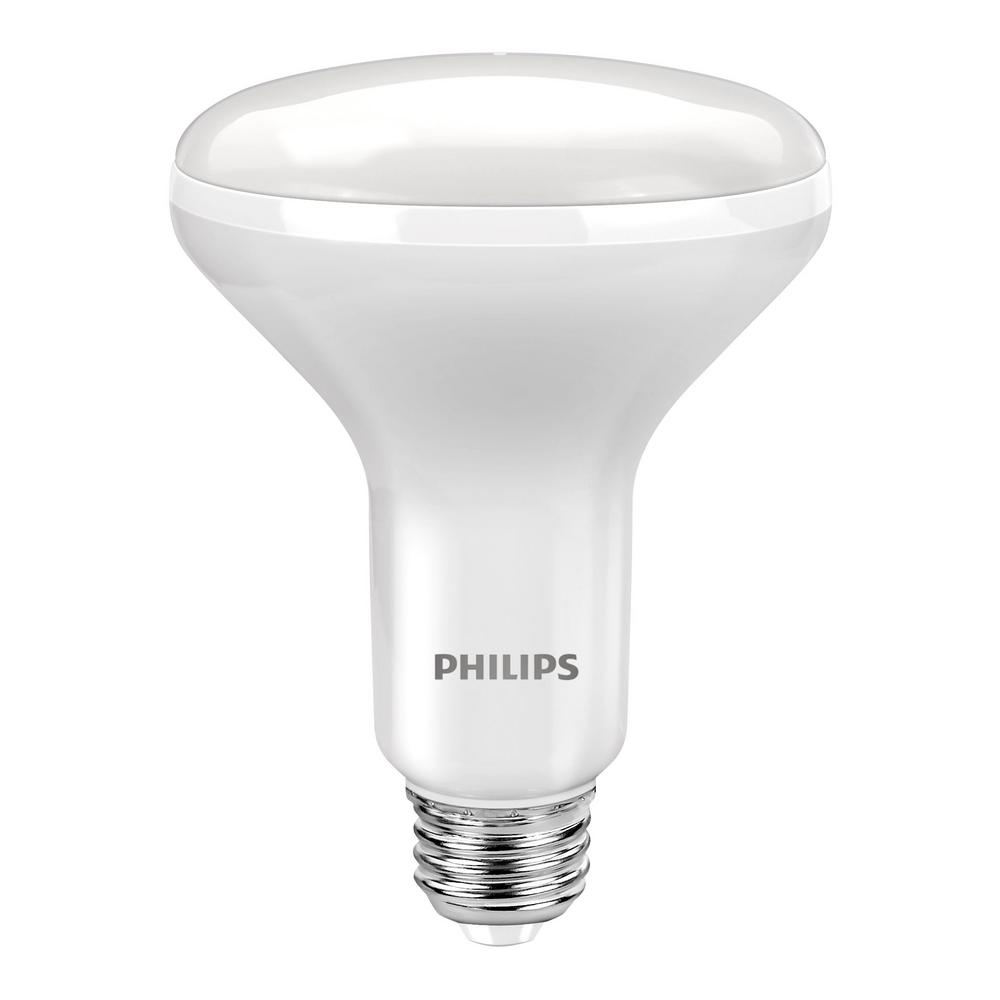 Philips 65W Equivalent Soft White with Warm Glow BR30 Dim...
