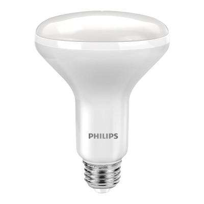 65W Equivalent Soft White with Warm Glow BR30 Dimmable LED Energy Star Light Bulb (3-Pack)