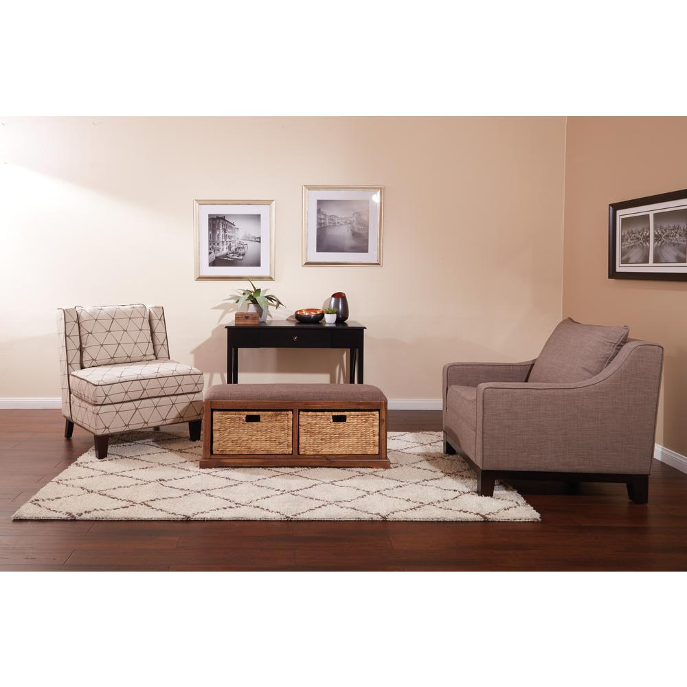 Avenue Six Sheridan Storage Bench, Distressed Toffee