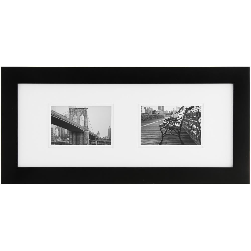 4 in. x 6 in. Black Picture Frame