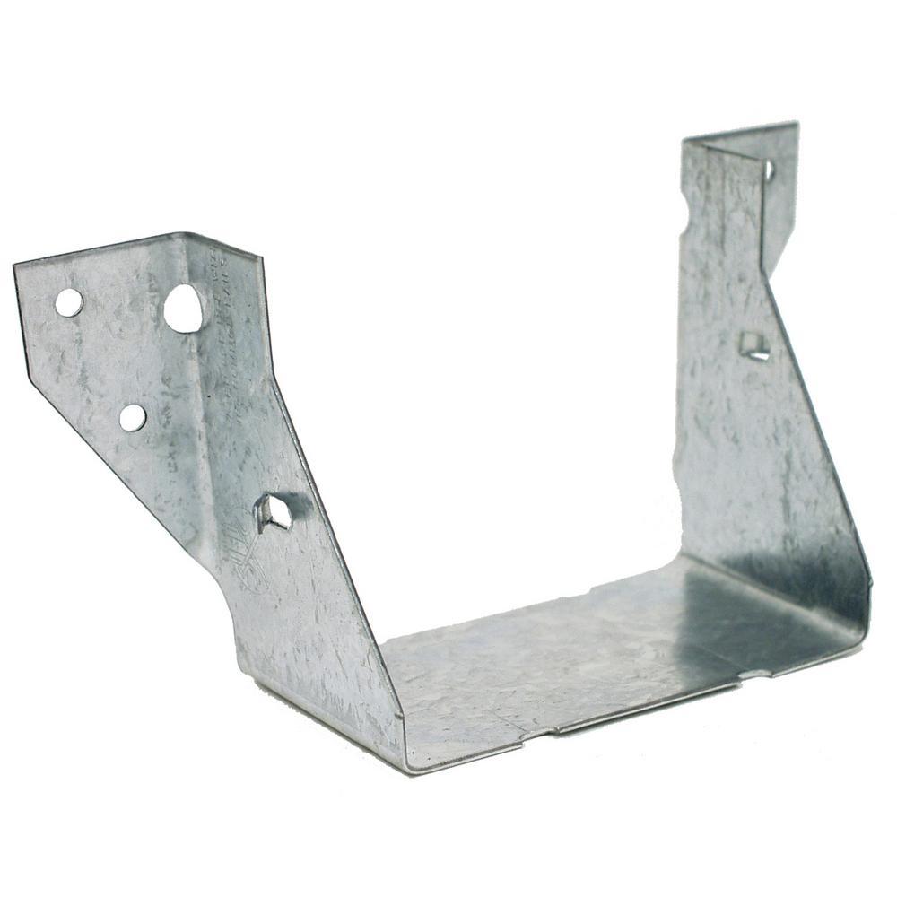 LUS ZMAX Galvanized Face-Mount Joist Hanger for 4x4 Nominal Lumber