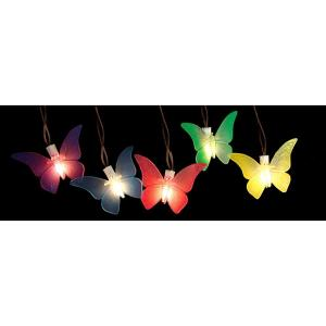 Sienna 10 Light Multi Color Battery Operated Butterfly