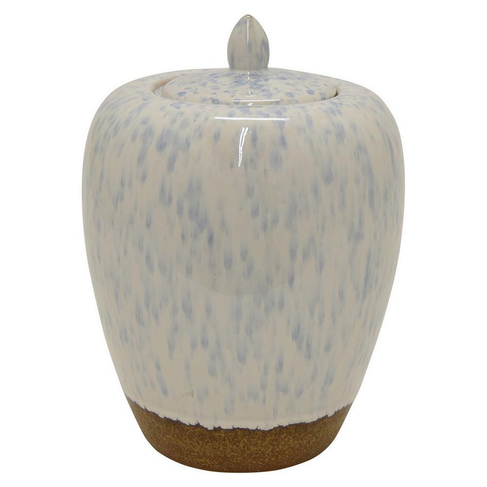 11 in. Ceramic Jar