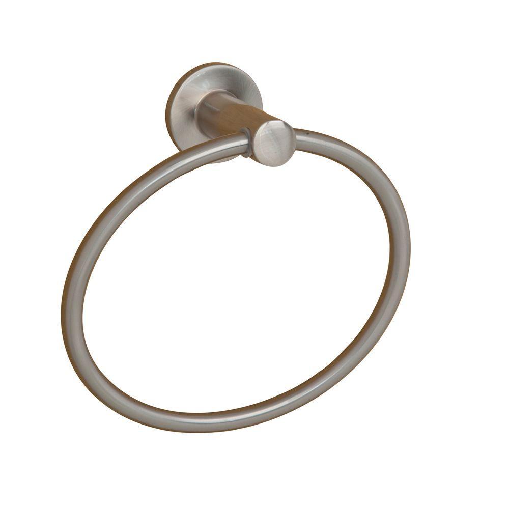 Flanagan Towel Ring in Satin Nickel