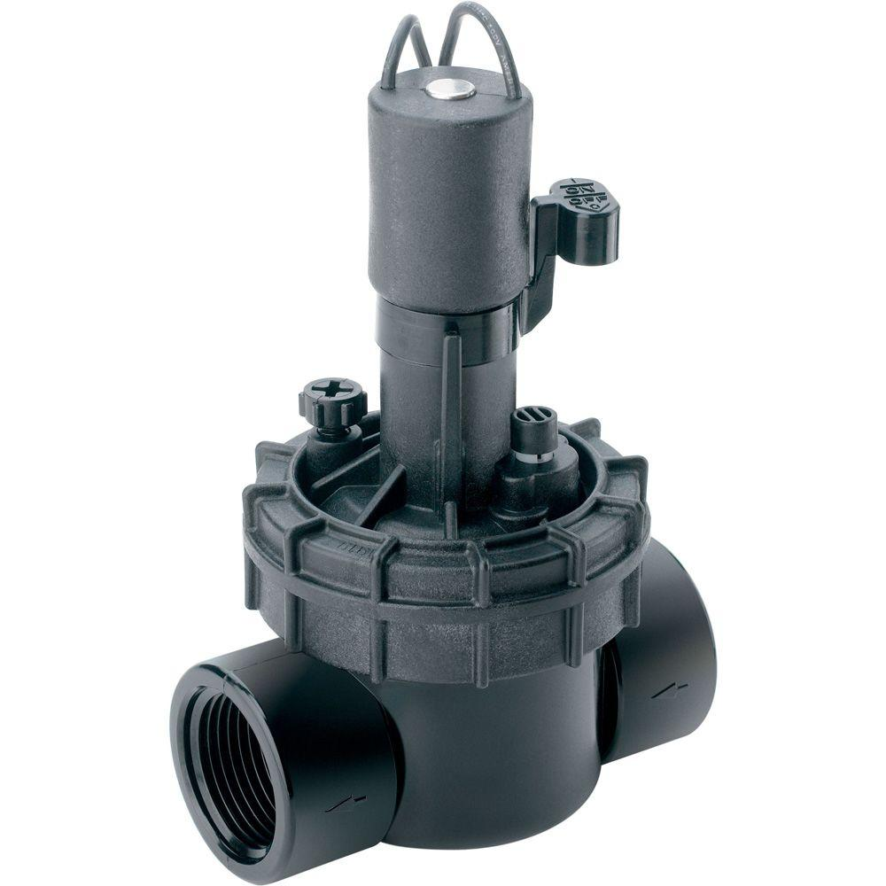 null 150 psi 1 in. In-Line Jar Top Valve with Flow Control