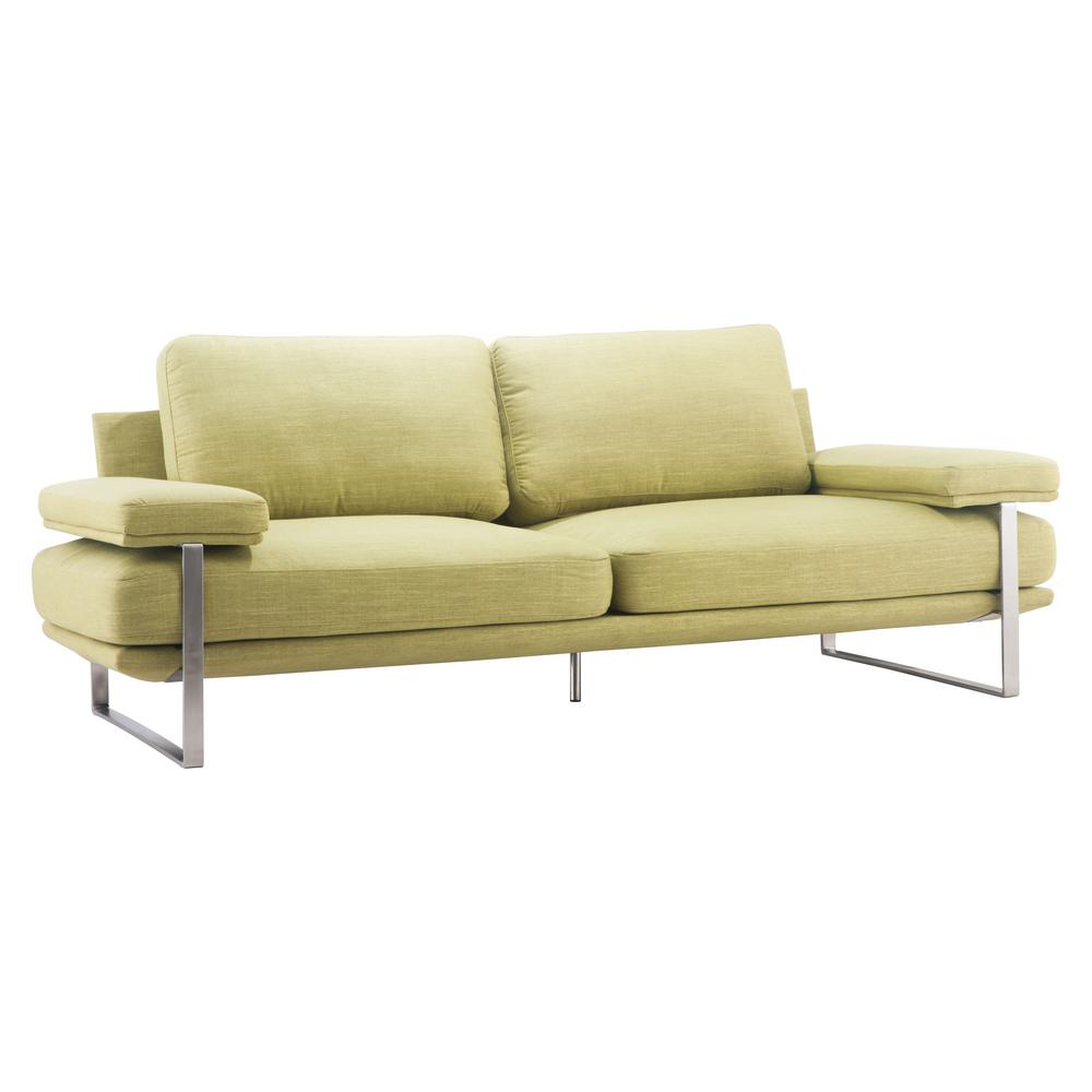 ZUO Jonkoping Lime Fabric Sofa