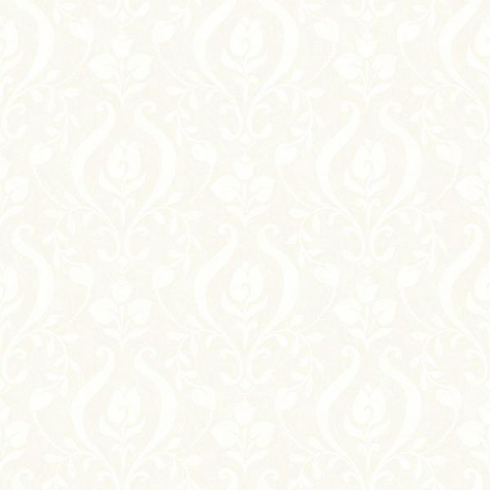 Chesapeake Eloise Light Grey Damask Wallpaper HAS01255