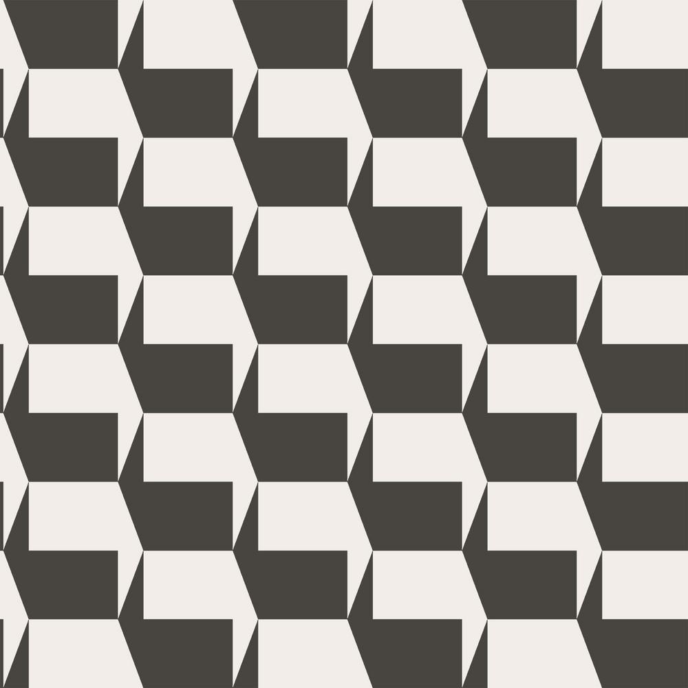 Tempaper Gio Charcoal Self-Adhesive, Removable Wallpaper GI551