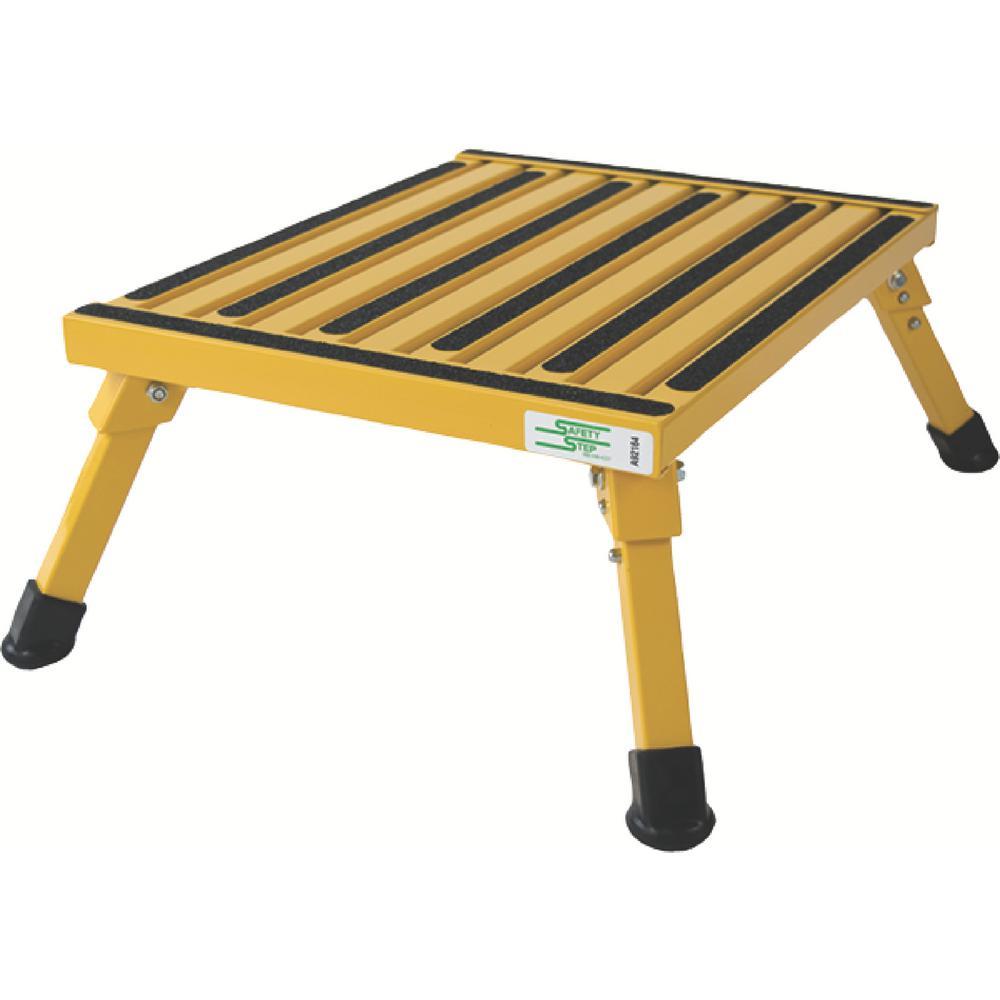 Yellow Large Folding Step