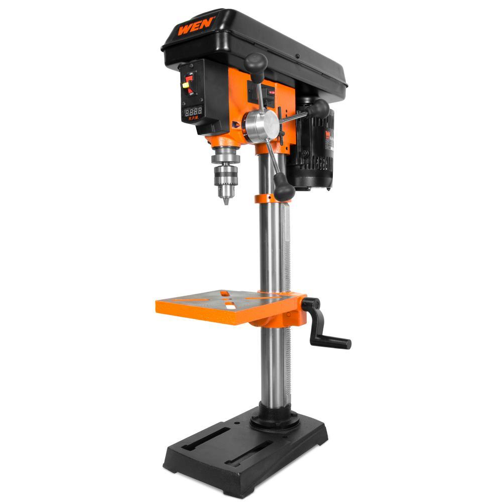 MicroLux 7 in. 3-Speed High-Torque Mini Drill Press