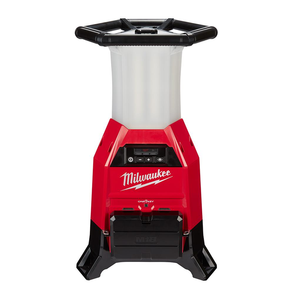Milwaukee M18 ONE-KEY 18-Volt Lithium-Ion Cordless RADIUS Site Light and  Charger (Tool-Only)-2150-20 - The Home Depot
