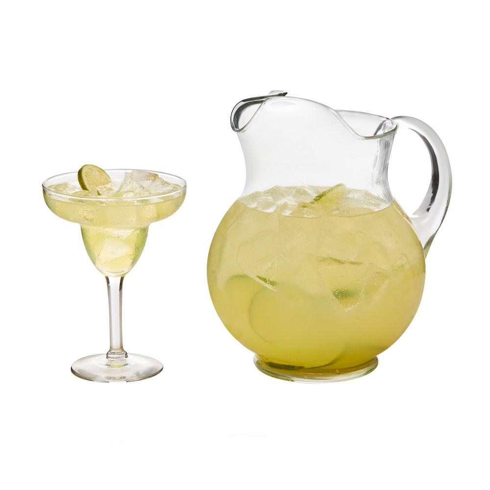 Cancun 7-piece Margarita Glass Entertainment Set