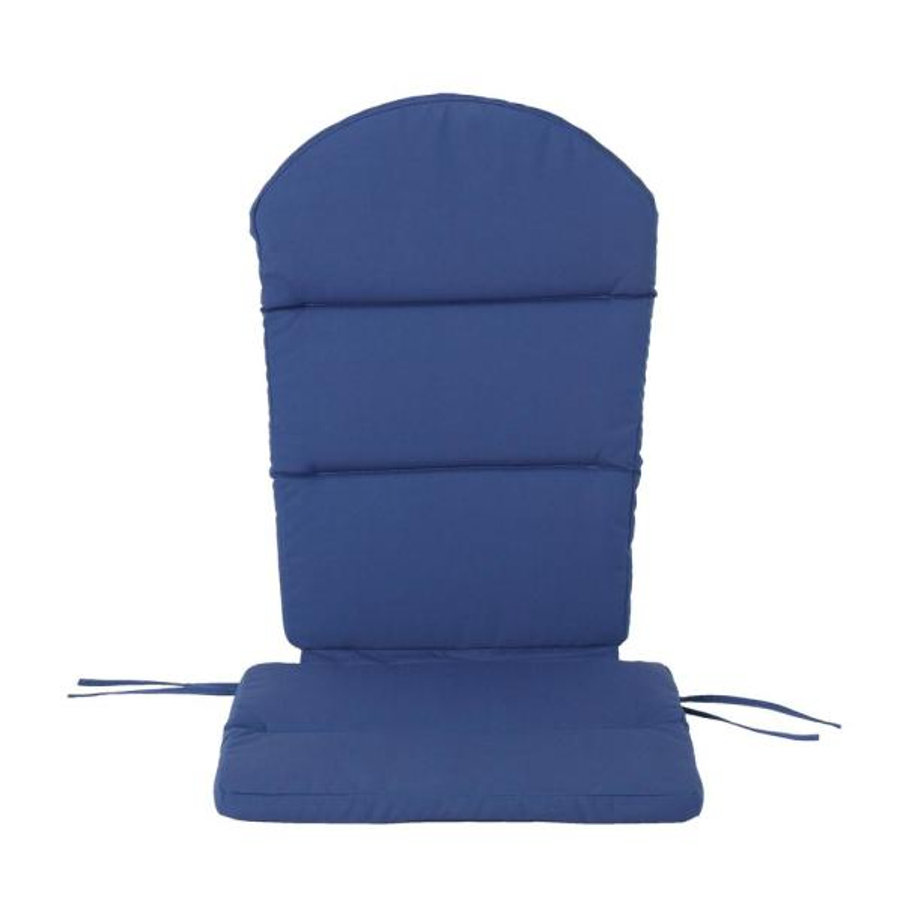 Malibu Navy Blue Outdoor Adirondack Chair Cushion (2-Pack)