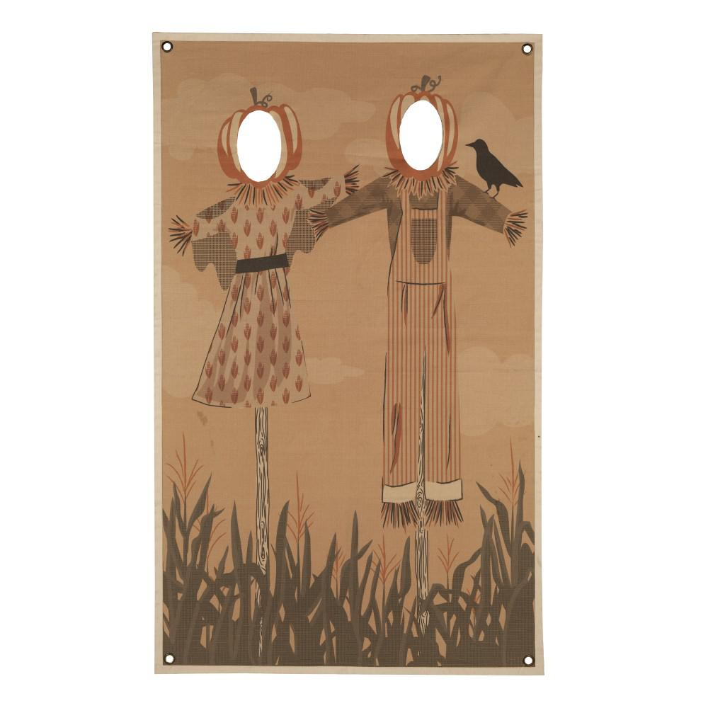 Home Accents Holiday 72.75 in. Scarecrow Photo Banner