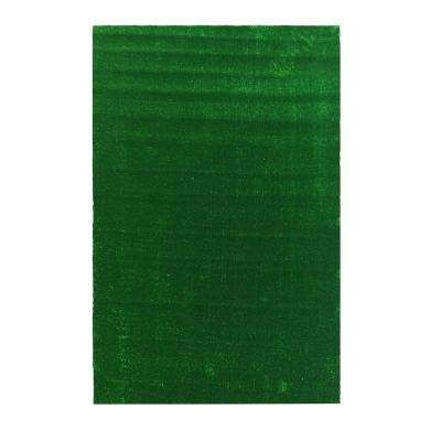 Evergreen Collection 6 ft. 7 in. x 9 ft. 3 in. Artificial Grass Synthetic Lawn Turf Indoor/Outdoor Carpet