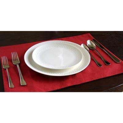 Macmillan 45-Piece Stainless Steel Flatware Set
