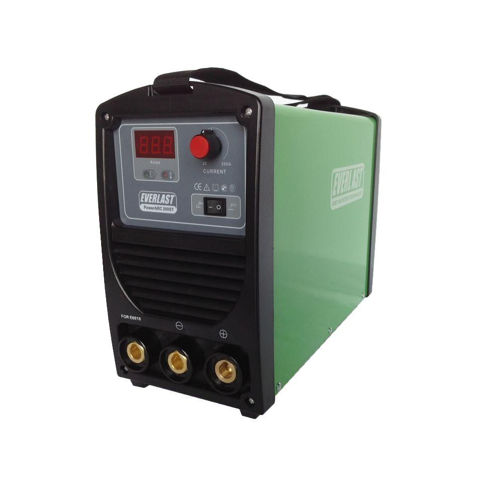 Everlast 200 Amp PowerARC 200ST IGBT Inverter DC Stick/TIG Welder with Lift  TIG Start