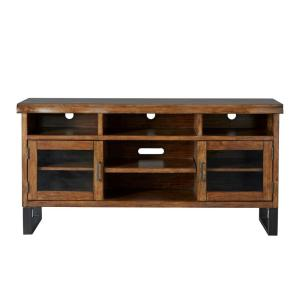 Barnard Brown Live Edge TV Stand