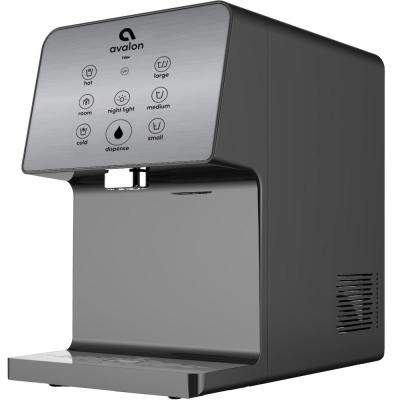 Electric Countertop Bottle-Less Water Cooler Water Dispenser - 3 Temperature, UV Cleaning, 3 Dispensing Volumes