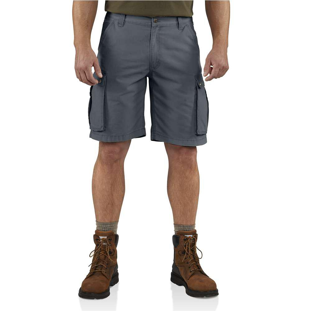 Men's Regular 34 Bluestone Cotton Shorts