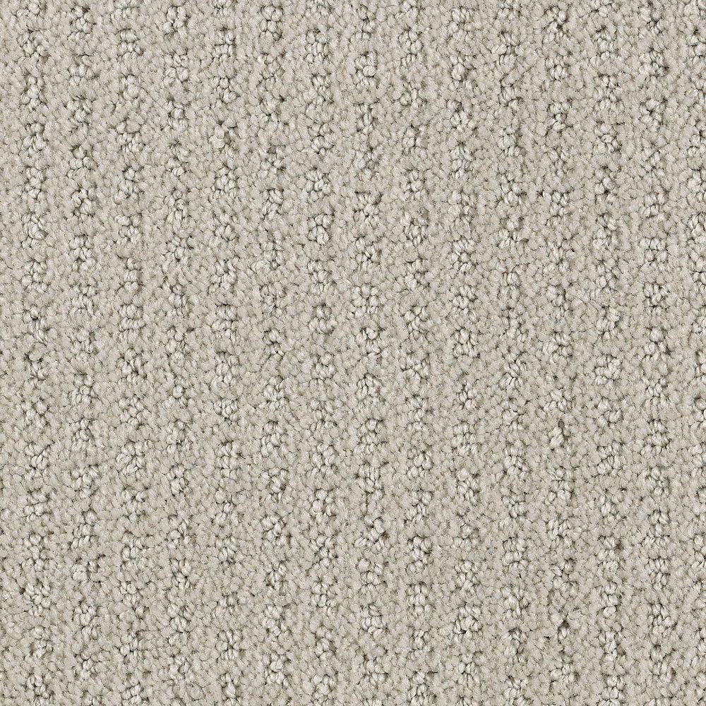 Game Face-Color Ash Textured 12 ft. Carpet
