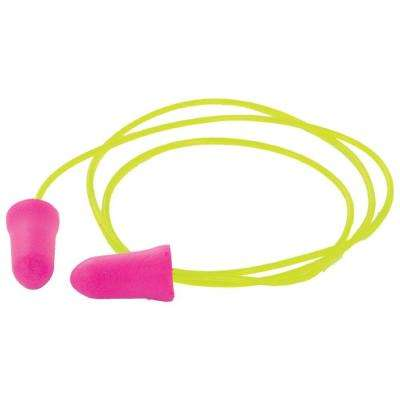GP05C Disposable Pink Corded Earplugs