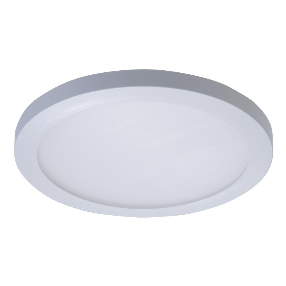 Halo Smd 5 In And 6 In White Integrated Led Recessed Round Surface Mount Ceiling Light Fixture