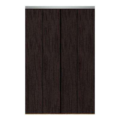 Etonnant Smooth Flush Solid Core Primed MDF Interior Closet Bi Fold Door With Chrome  Trim