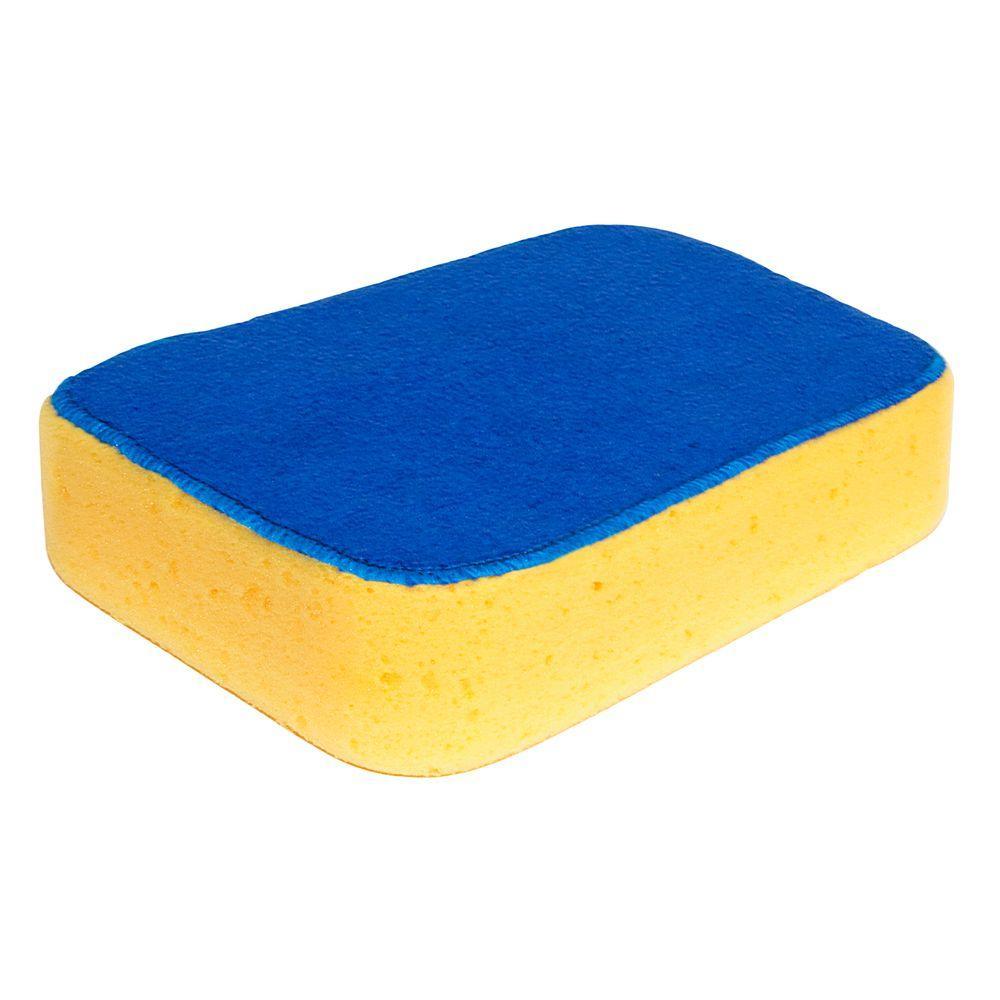 7-1/2 in. x 5-1/2 in. x 2 in. Microfiber Sponge