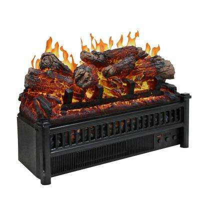 23 in. Electric Log Set with Heater