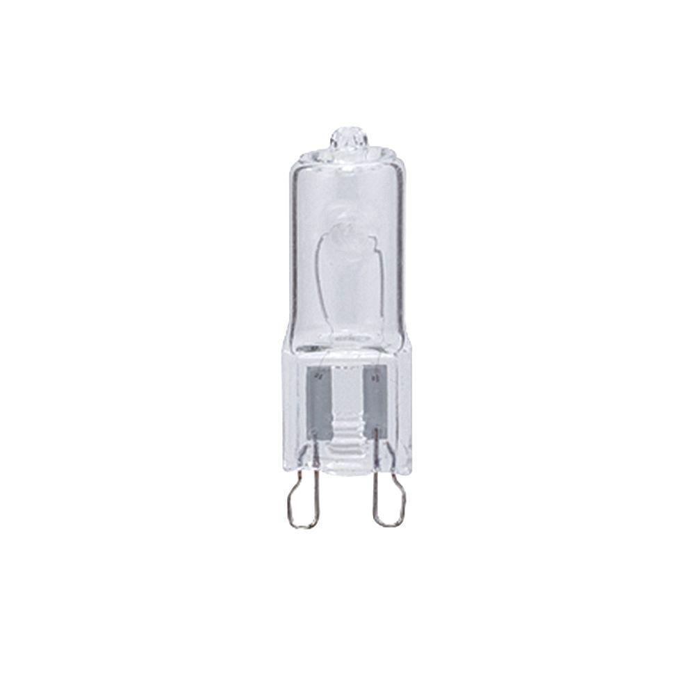 null 52-Watt Halogen T4 Lamp Light Bulb (2-Pack)