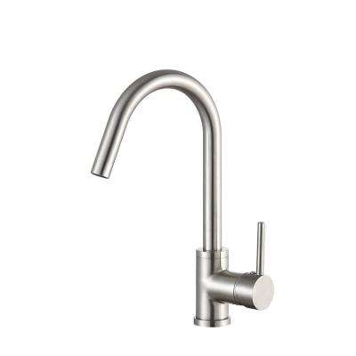Farnese Single Handle Standard Kitchen Faucet in Brushed Nickel