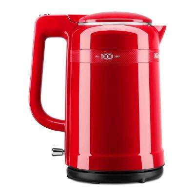 100-Year Limited Edition Queen of Hearts 6.3-Cup Passion Red Electric Kettle