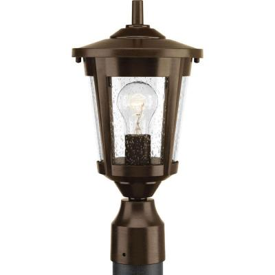 East Haven Collection 1-Light Outdoor Antique Bronze Post Lantern