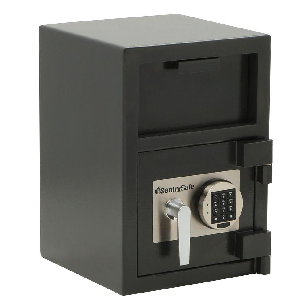 SentrySafe Depository Safe 0.94 cu. ft. Electronic Lock Drop Slot Safe