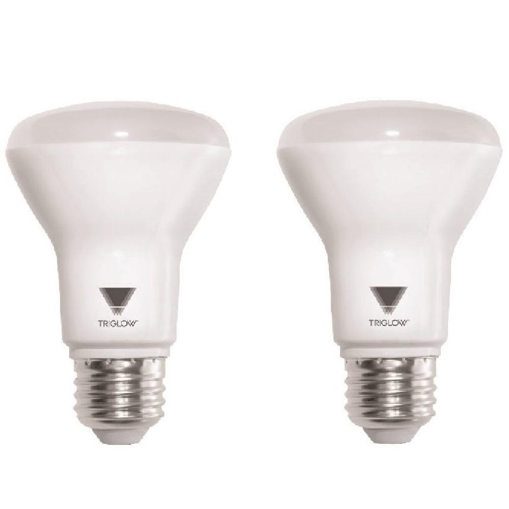 50-Watt Equivalent BR20 DimmableSoft White ENERGY STAR Certified LED Light Bulbs (2-Pack)