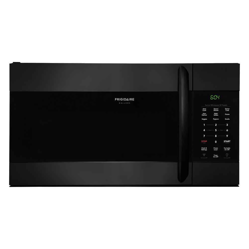 Over The Range Microwave In Black With Sensor Cooking