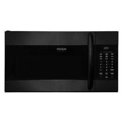 1.7 cu. ft. Over the Range Microwave in Black with Sensor Cooking