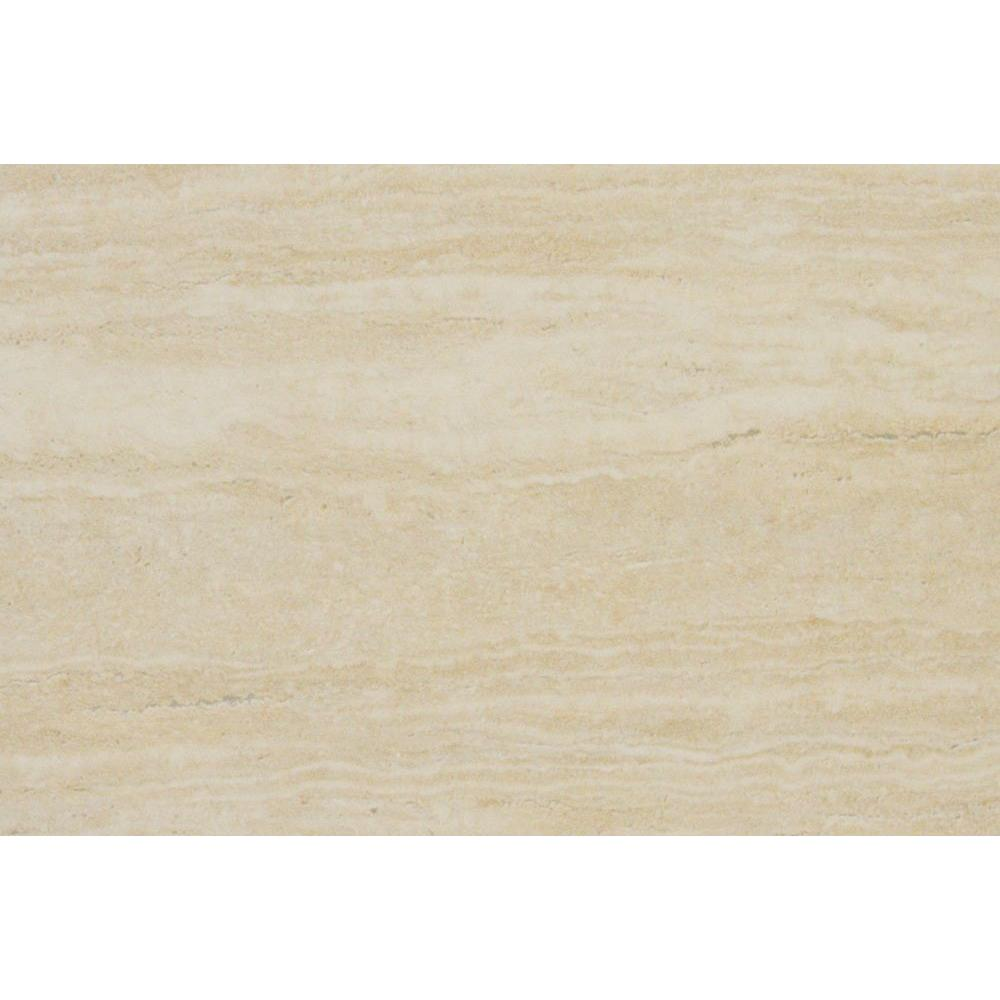 MSI Travertino Romano 8 in. x 12 in. Glazed Porcelain Floor and Wall Tile (6.67 sq. ft. / case)