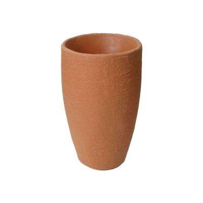 Athena 20.5 in. x 12.6 in. Terra Cotta Self-Watering Plastic Planter
