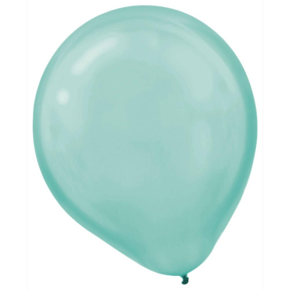 12 in. Pearlized Robin's Egg Blue Latex