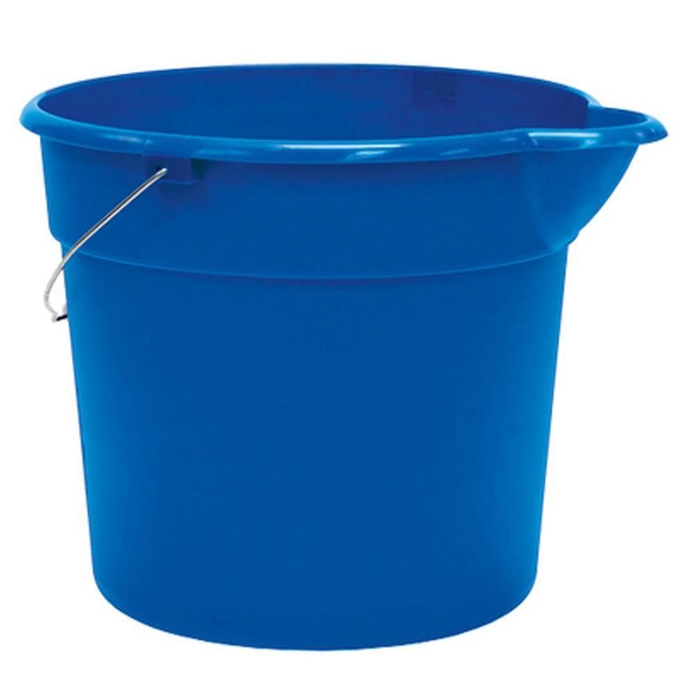 Bluehomz Solutions: United Solutions 12 Qt. Pail In Blue-PA8010