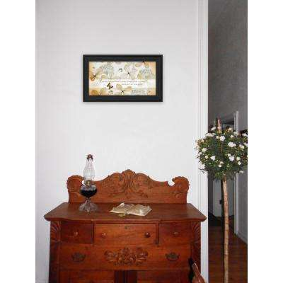 """11 in. x 20 in. """"Faith Sees"""" by Robin-Lee Vieira Printed Framed Wall Art"""