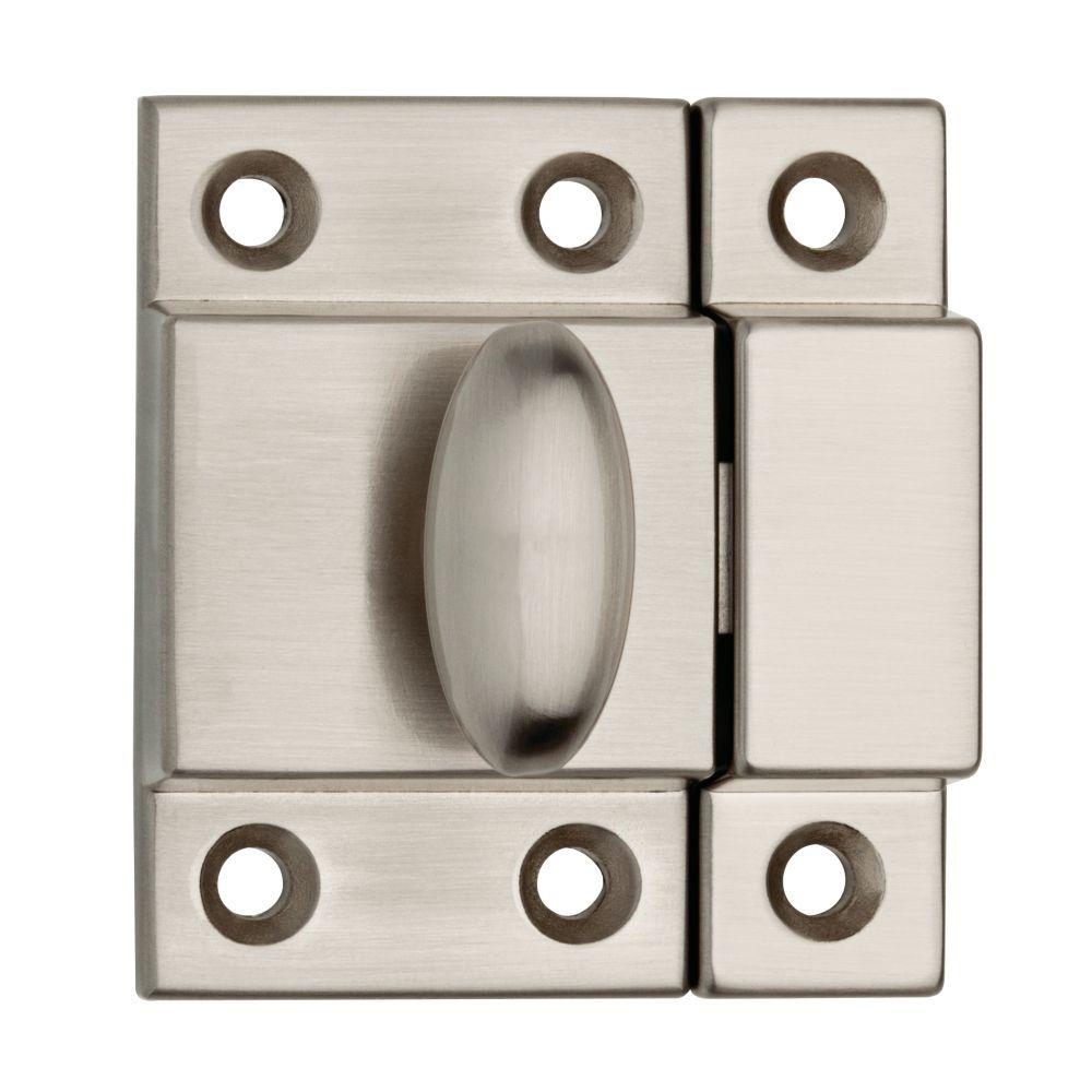 Liberty 2 in. Satin Nickel Matchbox Door Latch-P21221C-SN-CP - The ...