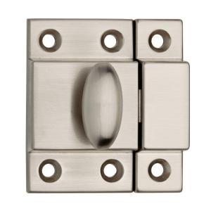 2 in. Satin Nickel Matchbox Door Latch