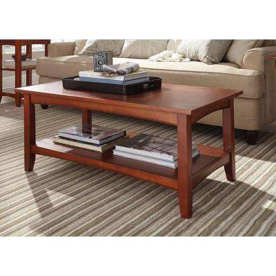 Shaker Cottage Cherry Storage Coffee Table